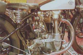 NSU Bullus 500SS mit Bronzekopf