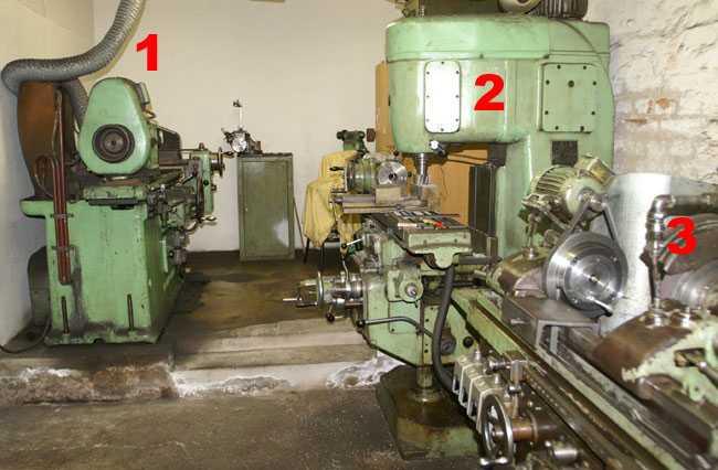 Verschiedene Maschinen zur Instandsetzung von Kurbelwellen und Motoren